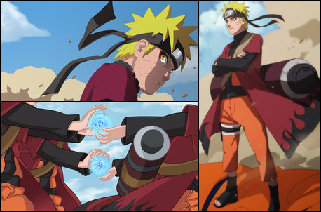 Naruto mode sennin